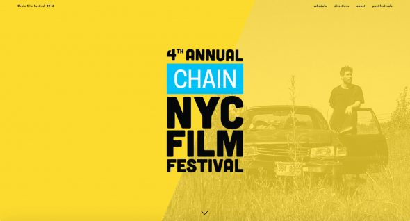Chain NYC Film Festival features Dean Temple on their home page.