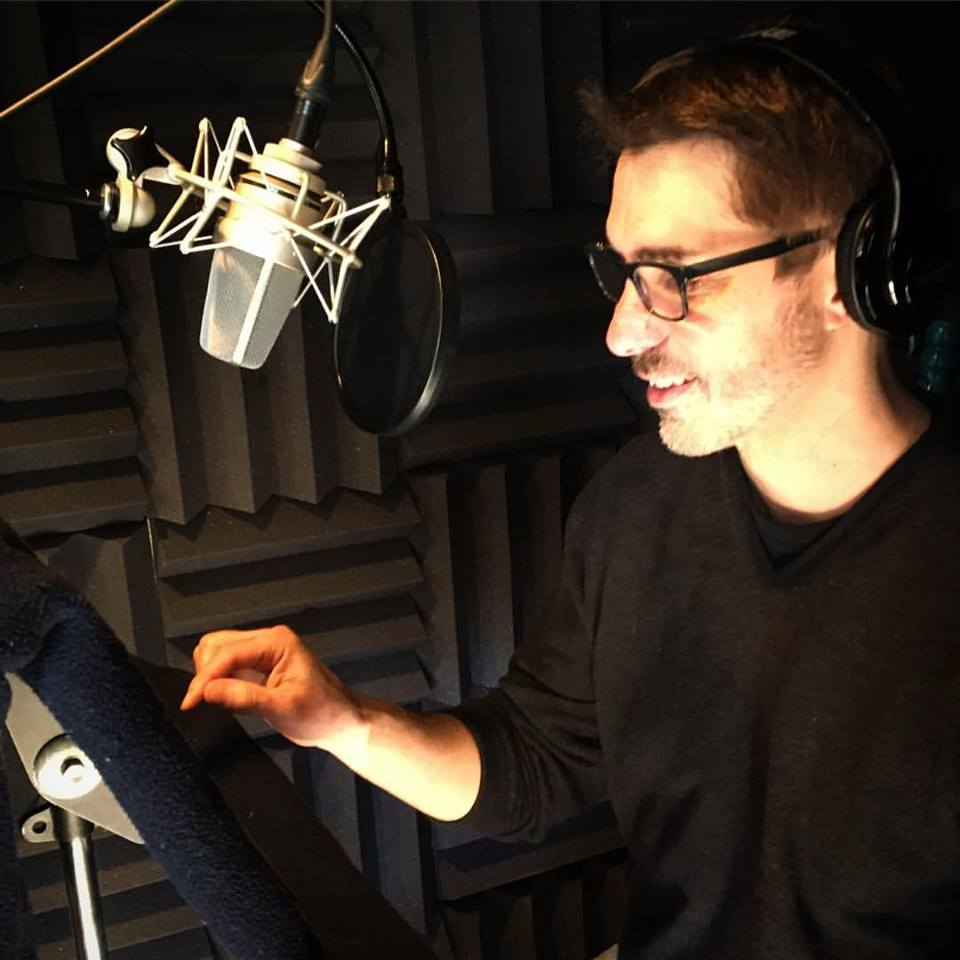 Narrating Brad Stone's The Upstarts for Hachette Audio